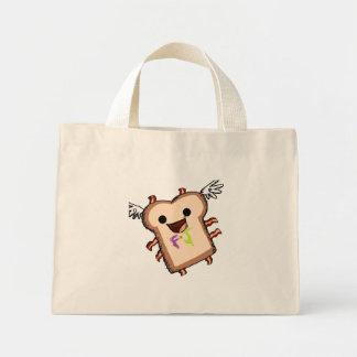 bacon sammich mini tote bag