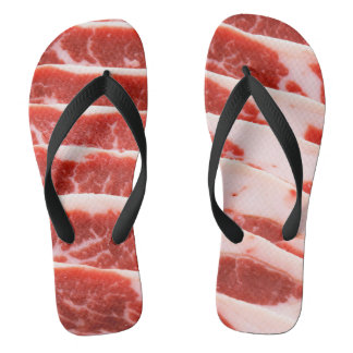 bacon shoes thongs