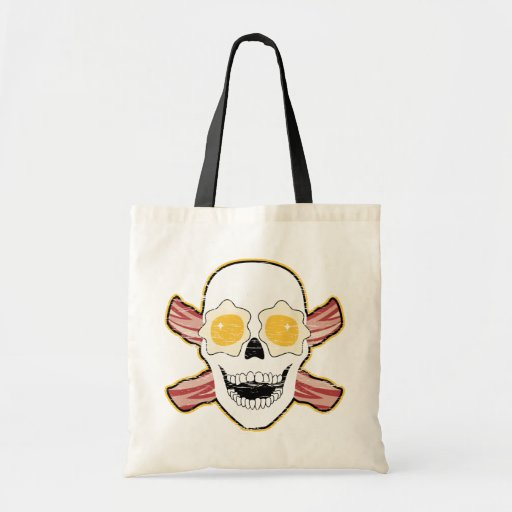 Bacon Skull Bags