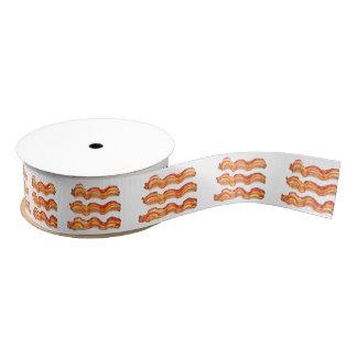 Bacon (Small) Grosgrain Ribbon