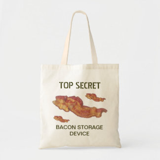 Bacon Storage Device Budget Tote Bag
