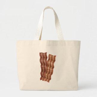 Bacon Strips Canvas Bags