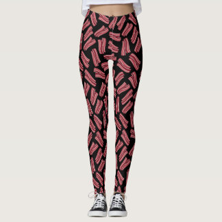 Bacon Strips Pattern Leggings