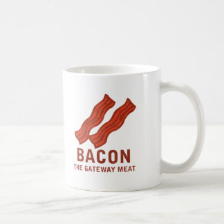 Bacon, The Gateway Meat Coffee Mug