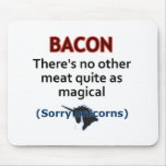 Bacon, the Magical Meat Mousemat