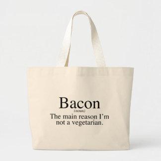 Bacon - The main reason I'm not a vegetarian. Bags