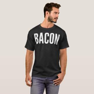 Bacon Typography T-Shirt