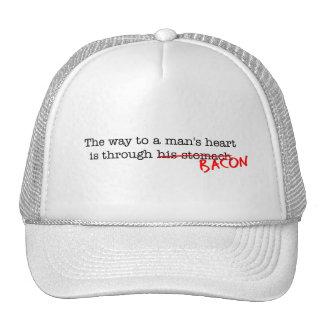 Bacon Way to a Man's Heart Trucker Hat