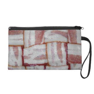 Bacon Weave Wristlet