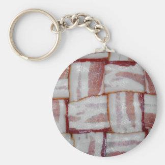 Bacon Weave Key Chain