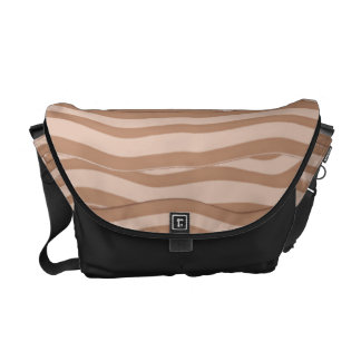 Bacon Weave Pattern Messenger Bag