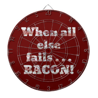 Bacon Won't Fail Dartboard With Darts
