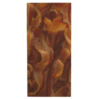Bacon Wood USB Flash Drive