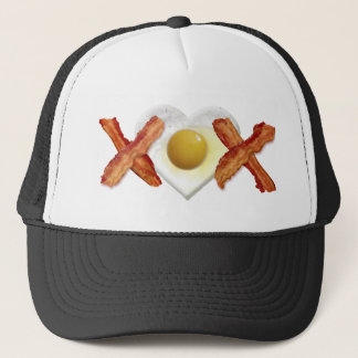 Bacon X O X LOVE Trucker Hat
