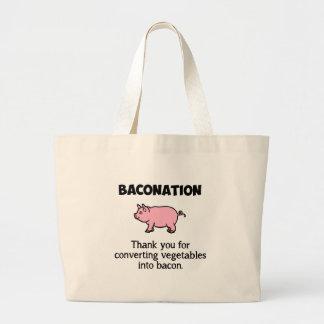 BACONATION CANVAS BAG