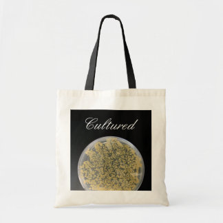 Bacteria Culture Plate Tote Bag