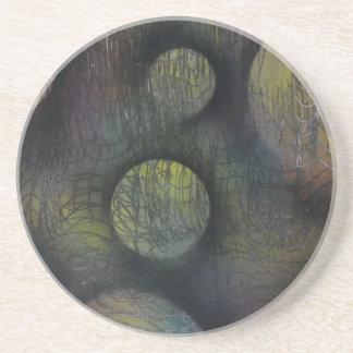 Bacteria enmeshed coaster