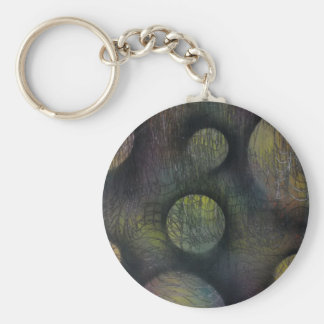 Bacteria enmeshed key ring