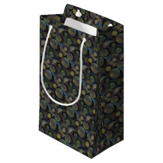 Bacteria enmeshed small gift bag