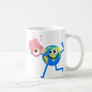 Bacteria Globe Basic White Mug