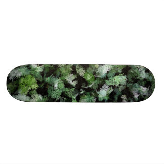 Bacteria patches attacking a plant skate deck