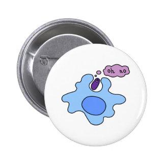 Bacteria Phagocytosis 6 Cm Round Badge