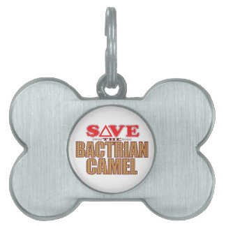 Bactrian Camel Save Pet Tag