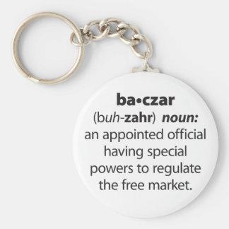 Baczar Basic Round Button Key Ring