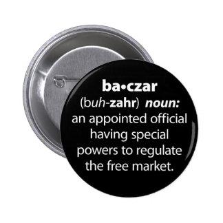 Baczar Pinback Buttons