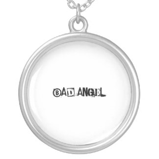 BaD aNgEl - Sterling Silver Necklace