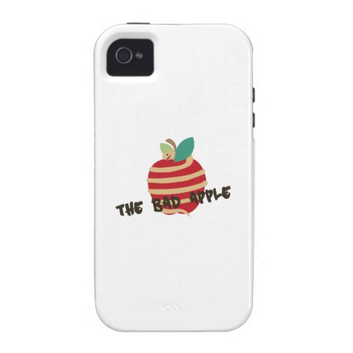 Bad Apple Vibe iPhone 4 Covers