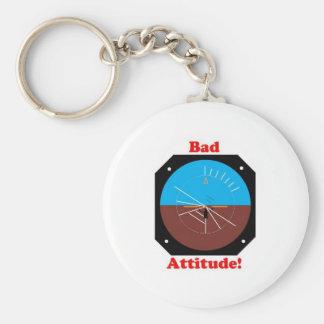 Bad Attitude Keychain