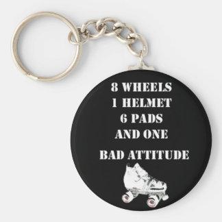 Bad Attitude Key Ring