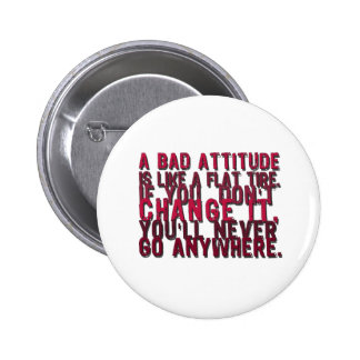bad attitude products 6 cm round badge