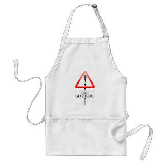 Bad attitude. standard apron