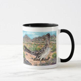 """Bad Bird"" Roadrunner and Kokopelli New Mexico Mug"