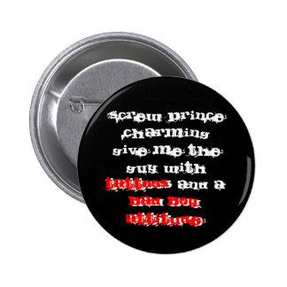 Bad Boy Attitude 6 Cm Round Badge