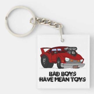 Bad Boys Mean Toys keychain