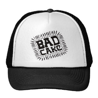 Bad Cake Trucker Hat - Black
