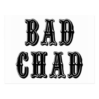 Bad Chad Postcard