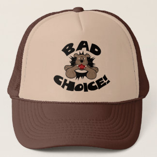 Bad Choice Bulldog Trucker Hat