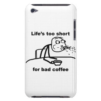 Bad Coffee Barely There iPod Covers