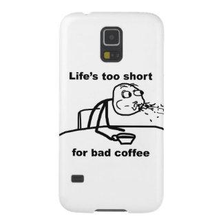 Bad Coffee Galaxy S5 Cases