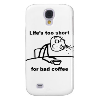Bad Coffee Samsung Galaxy S4 Cases