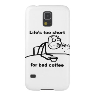 Bad Coffee Case For Galaxy S5