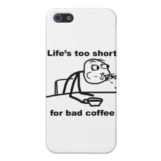 Bad Coffee Case For iPhone 5/5S
