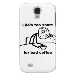 Bad Coffee Galaxy S4 Case