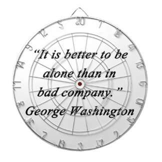 Bad Company - George Washington Dartboard