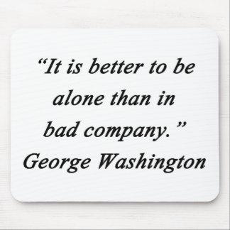 Bad Company - George Washington Mouse Pad