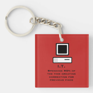 Bad Computer science Key Ring